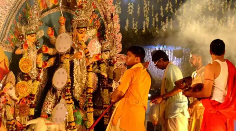 CaptureDurga puja celebration