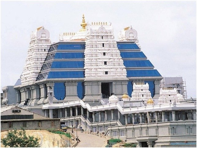 Iskcon Temple Bangalore during janamasthmi