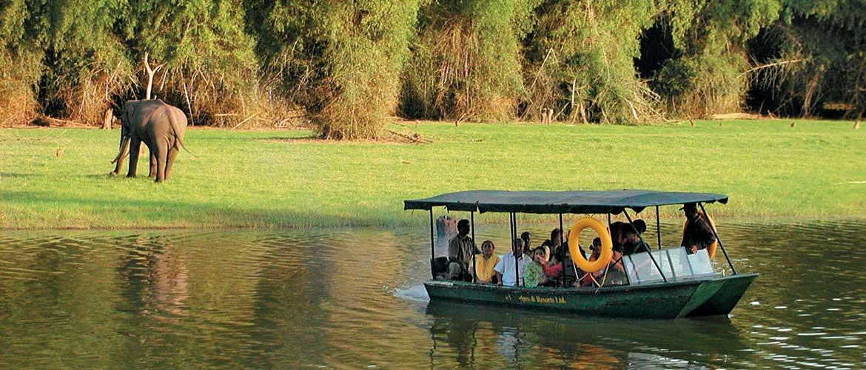 Kabini River and wildlife sanctuary