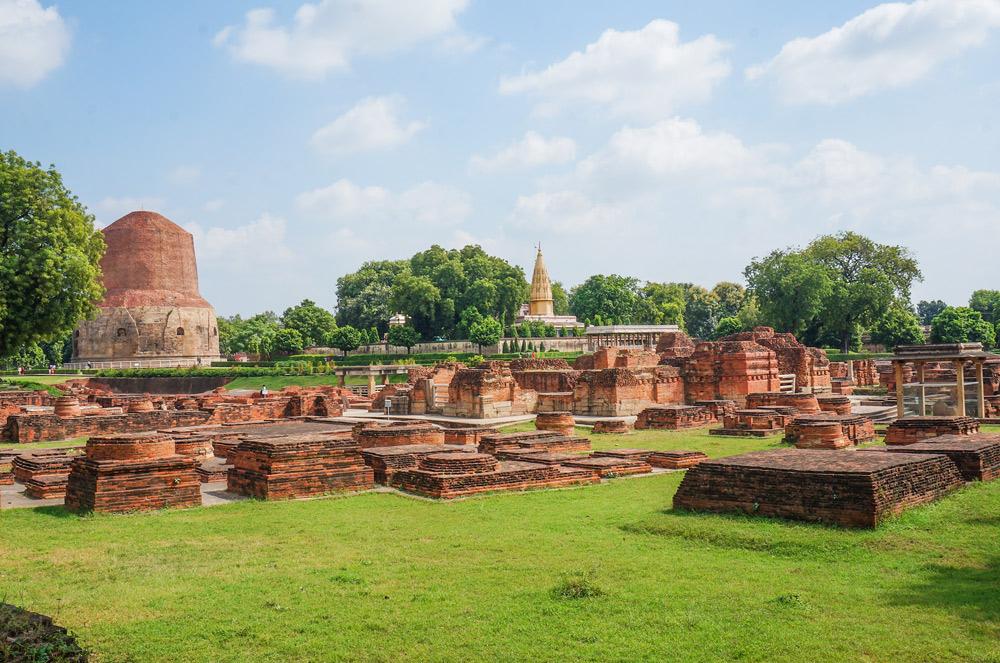 Sarnath-Stupa