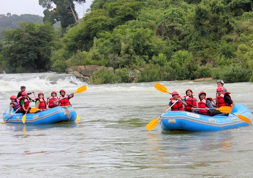 Barapole River For Rafting