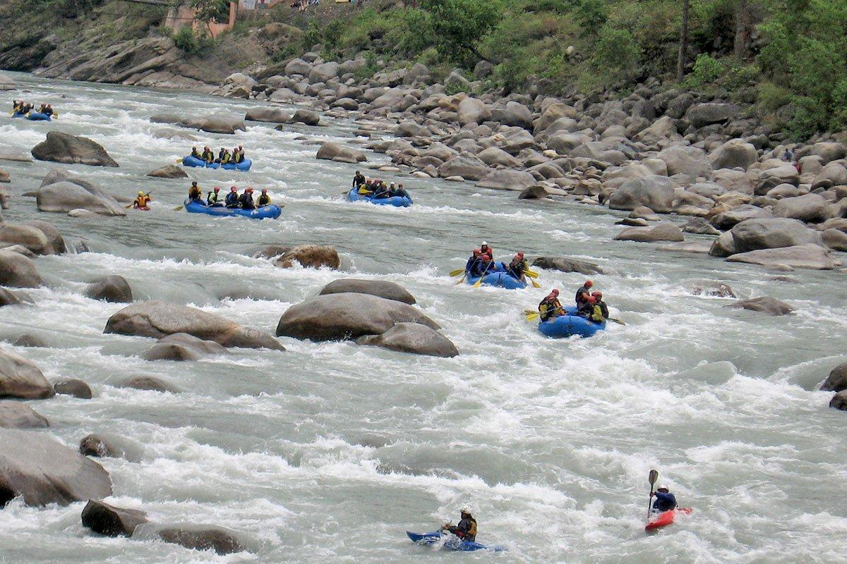 Rafting in Tons River, Uttarakhand