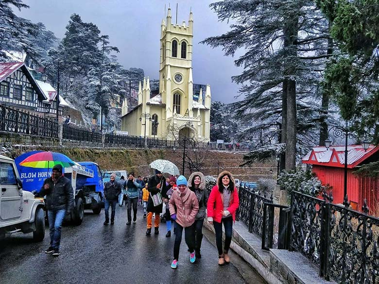 Travel to Shimla with Kids