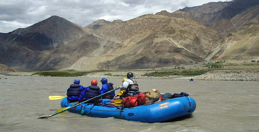 Indus River for Rafting
