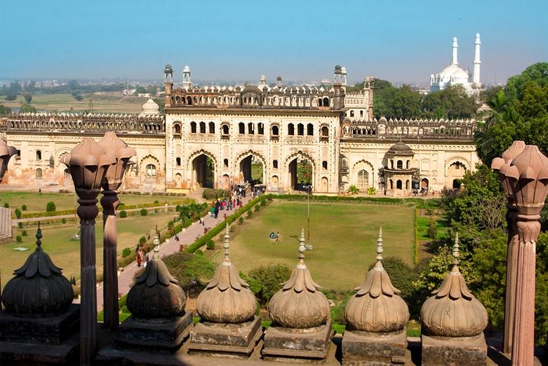 Gravity Defying Palace At Lucknow, Uttar Pradesh