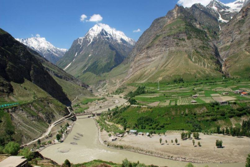 Chandra and Bhaga Rivers