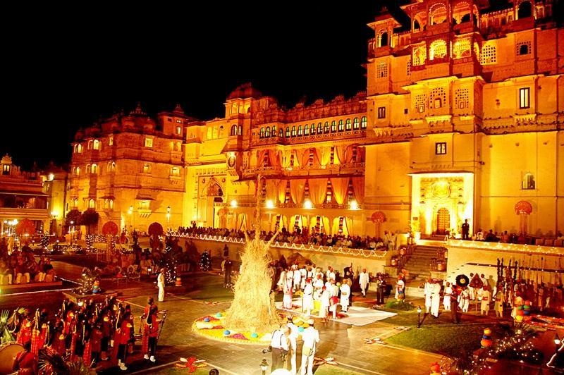 Holi celebration in Udaipur