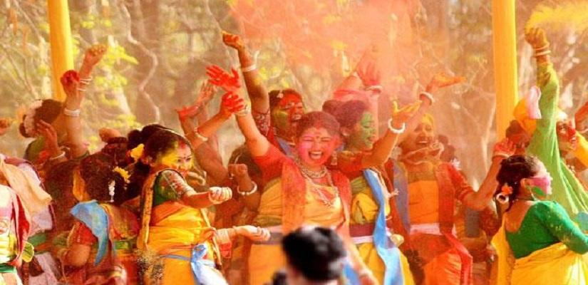 Holi in Purulia