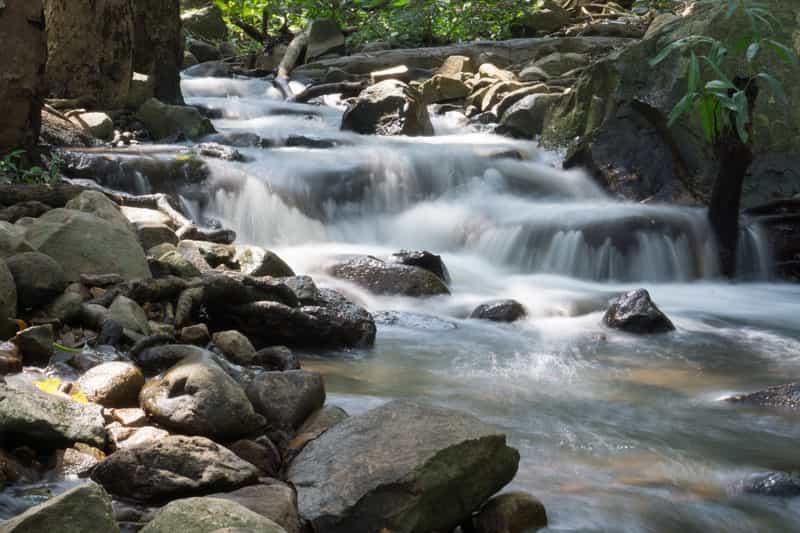 Puliyancholai Waterfalls