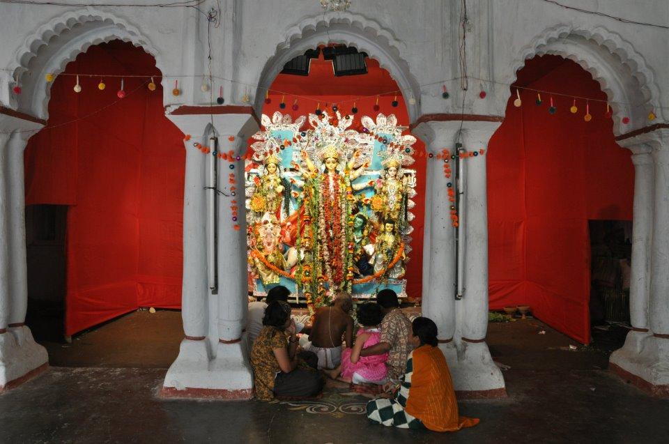 Durga Puja of Sabarna Roy Choudhury Family